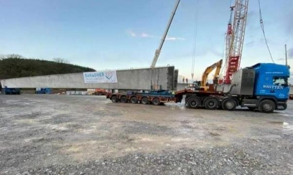 50m Beams - Banagher to Macroom