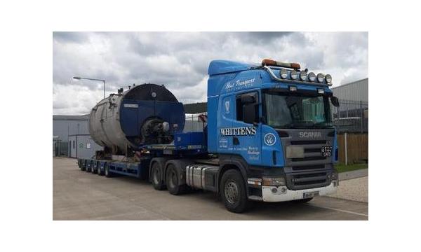 Whitten Road Haulage - 40 Ton Boiler