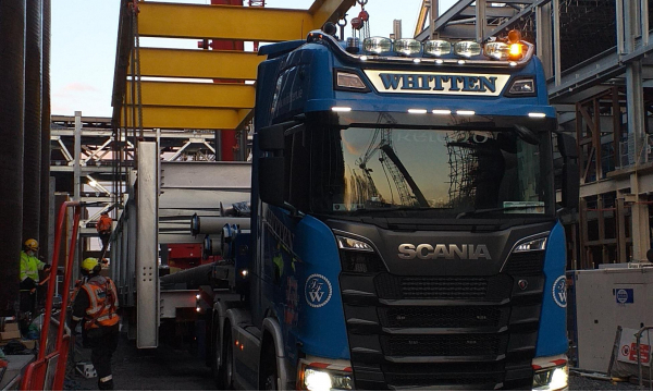 Whitten Road Haulage - Last module to blue chip site