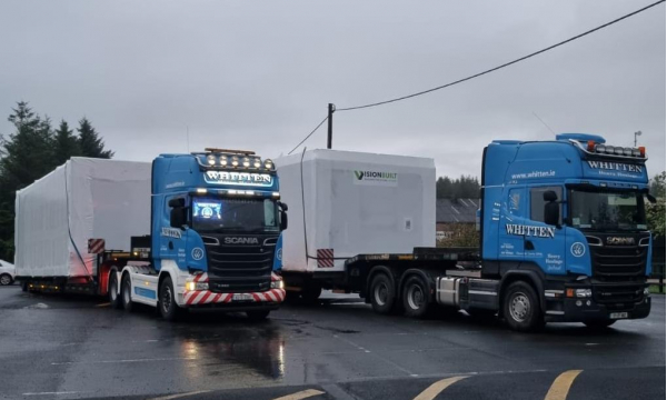 Whitten Road Haulage - Modules Tubbercurry to Kilcoole