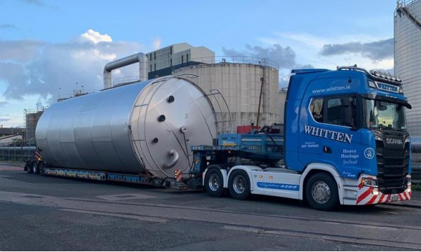 Whitten Road Haulage - 4.6m Tank Charleville to Rugby