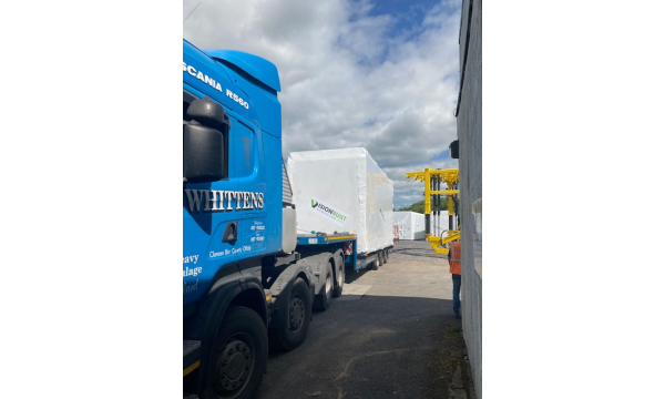 Whitten Road Haulage - Modular Construction Project Tubbercurry to Dunshaughlin