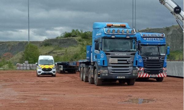 Whitten Road Haualge - 6 33m Beams to Peterborough