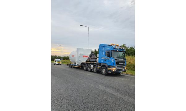 Whitten Road Haulage - 3.5m Heat Exchanger Dublin to Fermoy