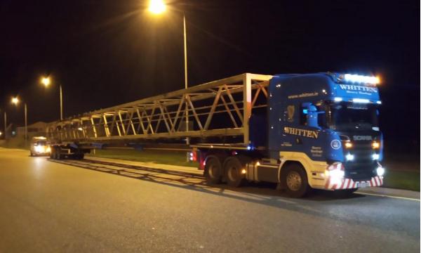 Whitten Road Haulage- 36m Gantry Cork to Carlow